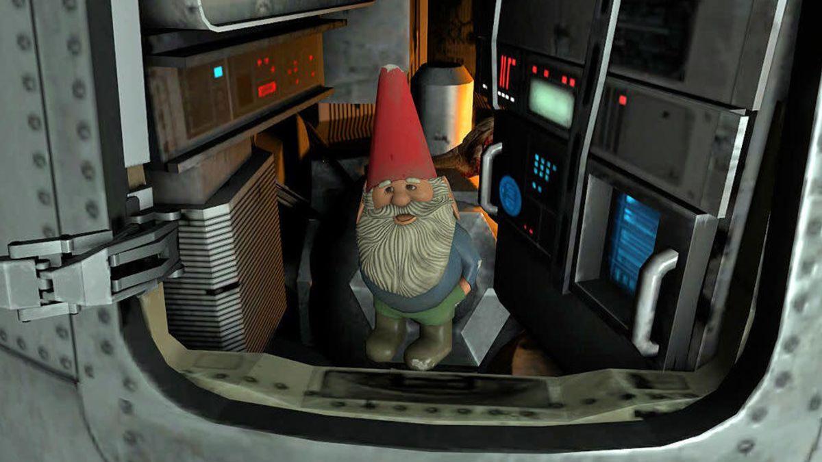 在现实中达成游戏成就 G胖将花园侏儒送往太空
