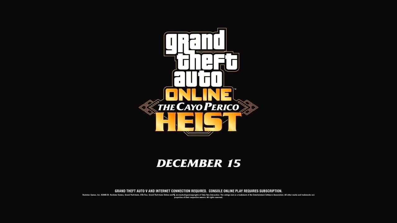 """《GTAOL》最庞大扩展包""""佩里科岛抢劫任务""""12月15日上线"""