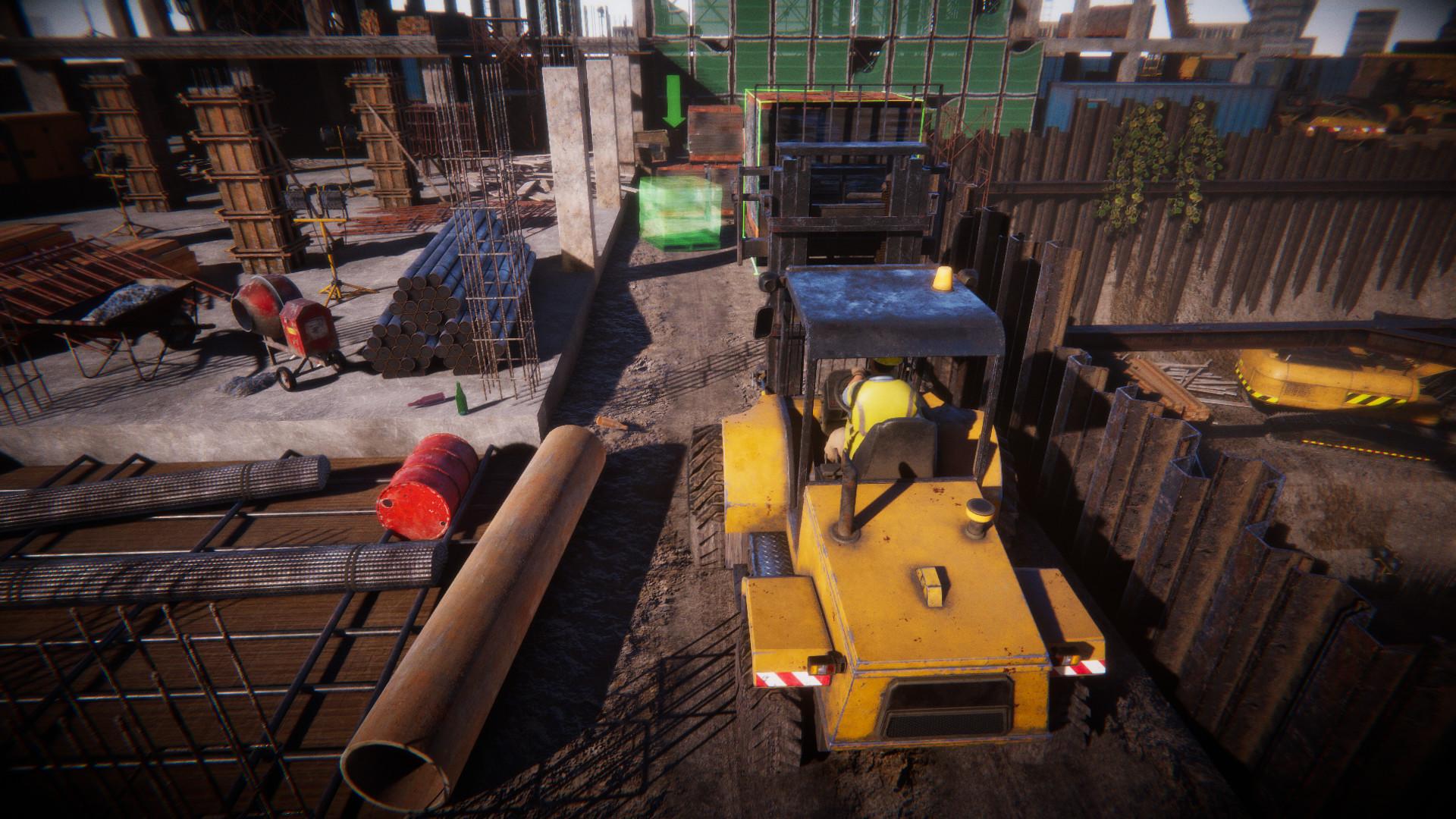 《建筑工人模拟器》上架Steam 支持中文和国语配音