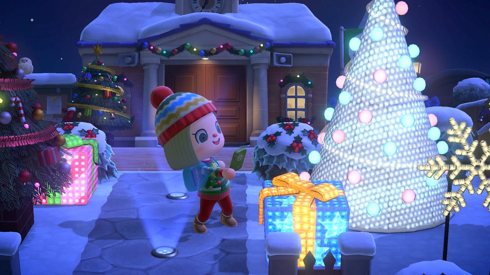 《动物森友会》再次限制穿越者 没法提前看圣诞节了