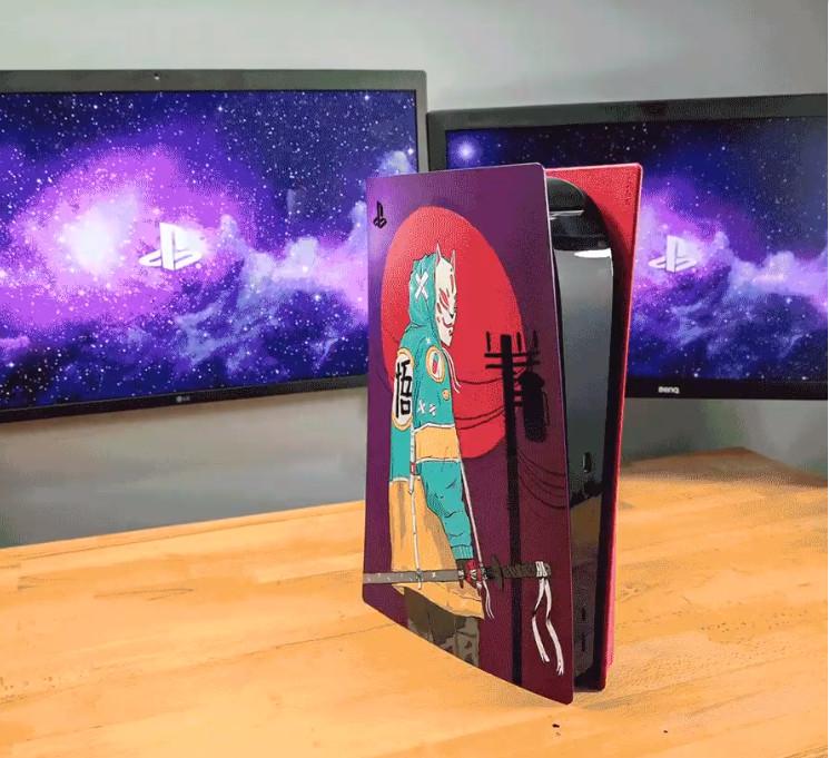 国外艺术家晒超赞PS5 DIY设计 索尼工作室:太牛了!