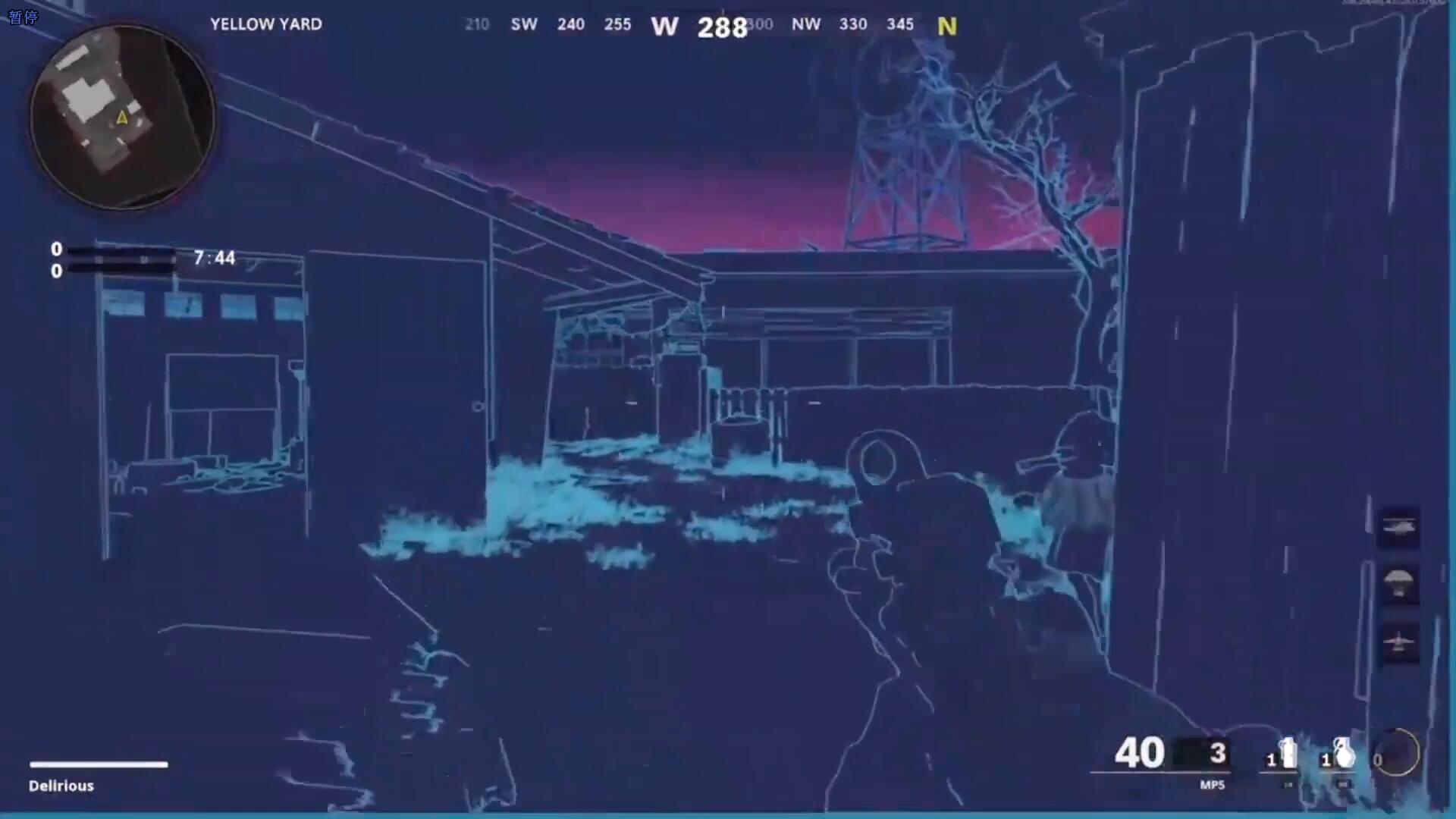 《使命召唤:黑色行动》系列在核弹镇地图中埋彩蛋成常规操作