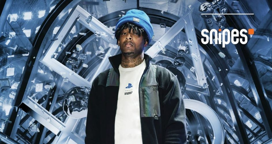 21 Savage携手索尼 推SNIPES x PlayStation联名服饰