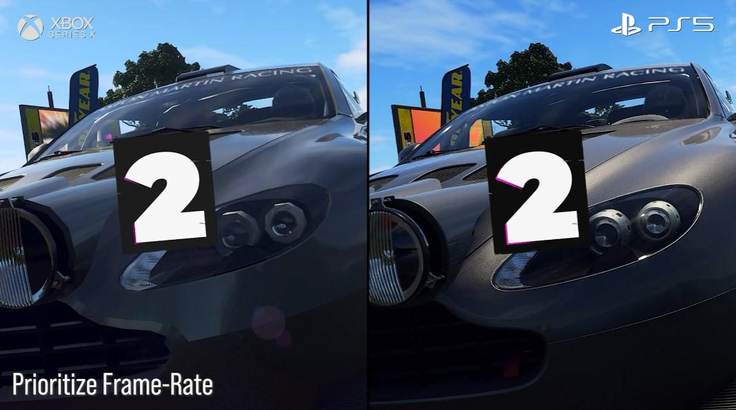 车灯变螺母?《尘埃5》PS5/XSX对比 开发商:将完善XSX画质