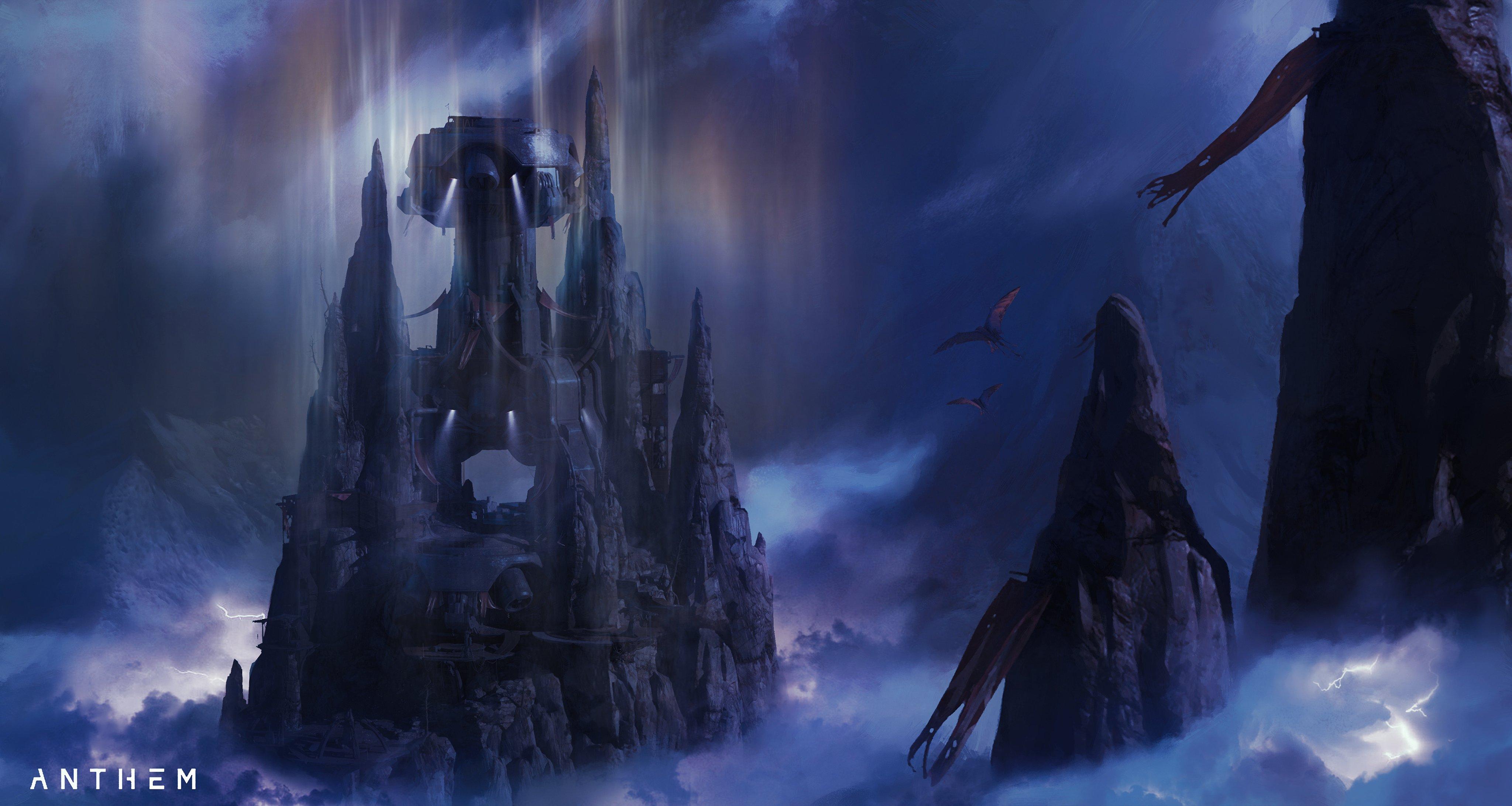 """《圣歌》2.0全新副本""""Longfall Ruins""""概念图公开"""