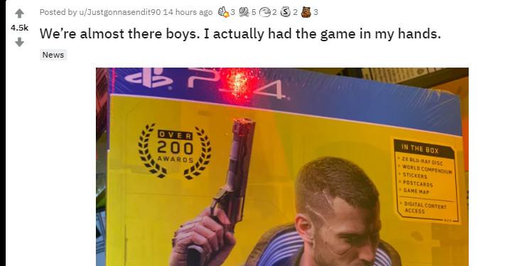 《赛博朋克2077》PS4版别偷跑 我们警觉剧透内容