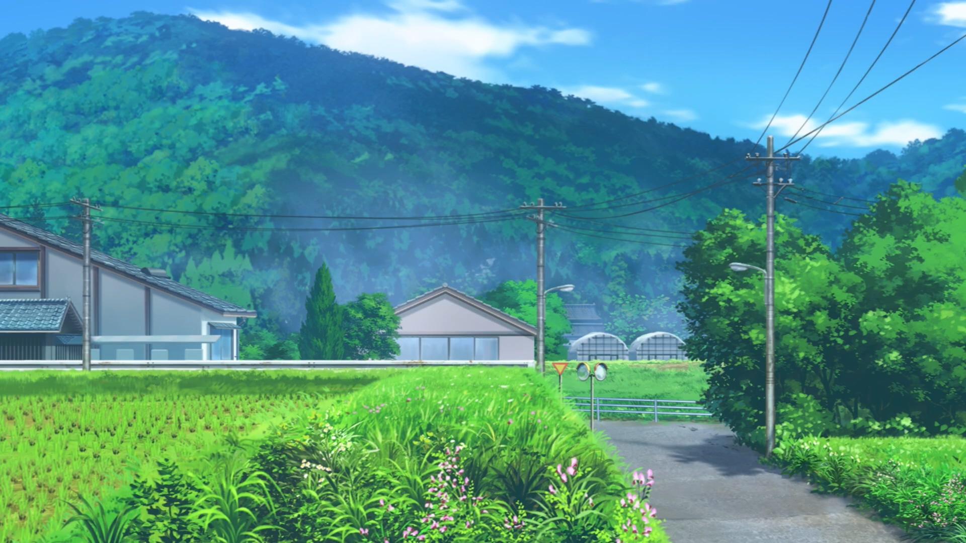 《悠哉日常大王》2021年1月10日放映 少女们在风景优美乡下学校的悠哉日常生活