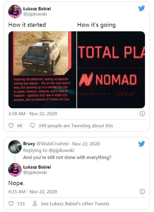 开发人员已进行175小时《赛博朋克2077》 仍未打完