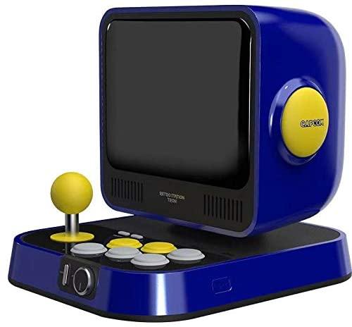 CAPCOM推出经典怀旧游戏主机 8寸大屏带10款游戏