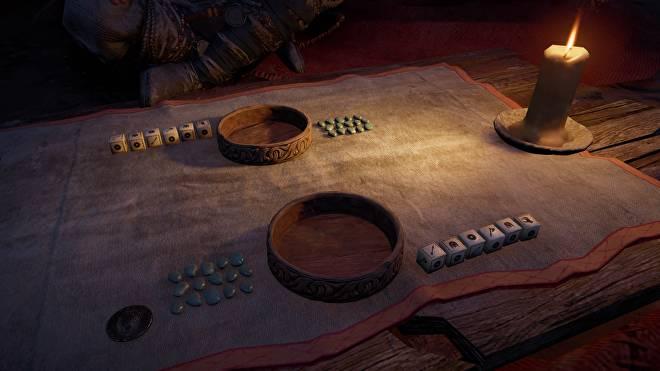 《刺客信条:英灵殿》掷骰子小游戏将推出实体桌游