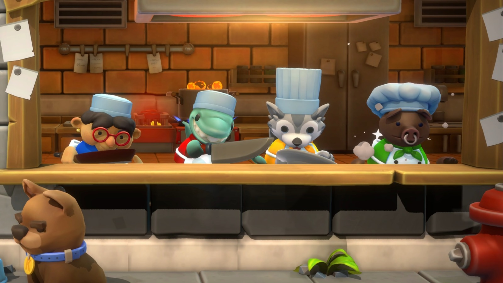 《胡闹厨房全都好吃》PS5盒装版已上市 新PV公开