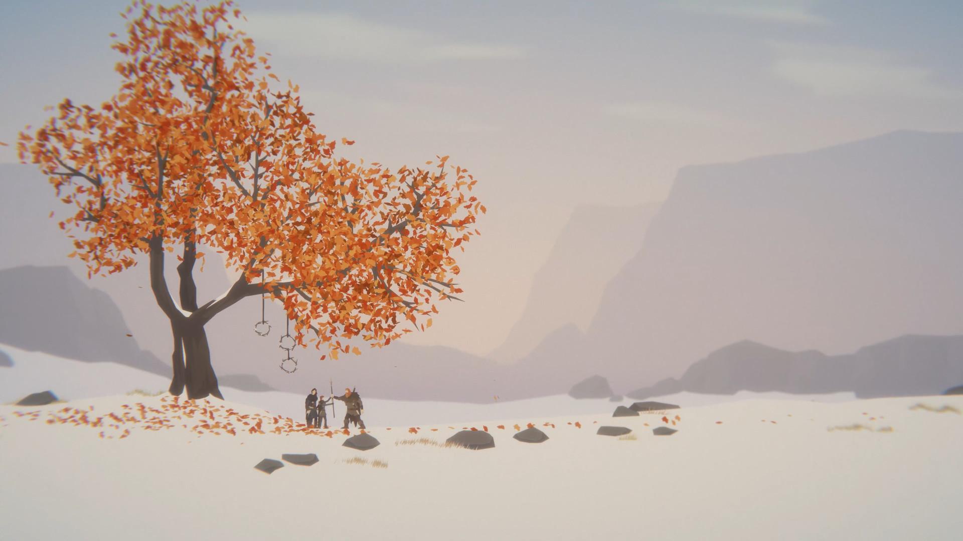 手绘风冒险游戏《Unto The End》12月9日发售 登陆PC/PS4/XB1