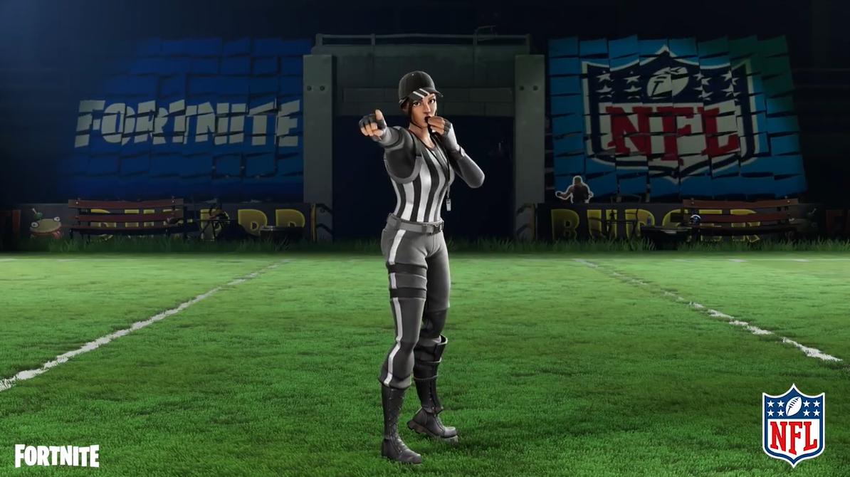 《堡垒之夜》追加新的NFL皮肤和动作表情