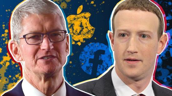 苹果和Facebook几乎没有竞争 为什么彼此看不上对