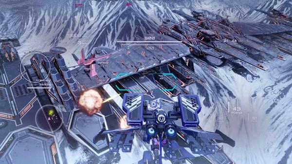机甲射击游戏《钢翼少女》上架Steam 过场动画采用3D技术
