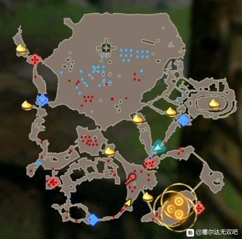 《塞尔达无双:灾厄启示录》全呀哈哈收集位置一览