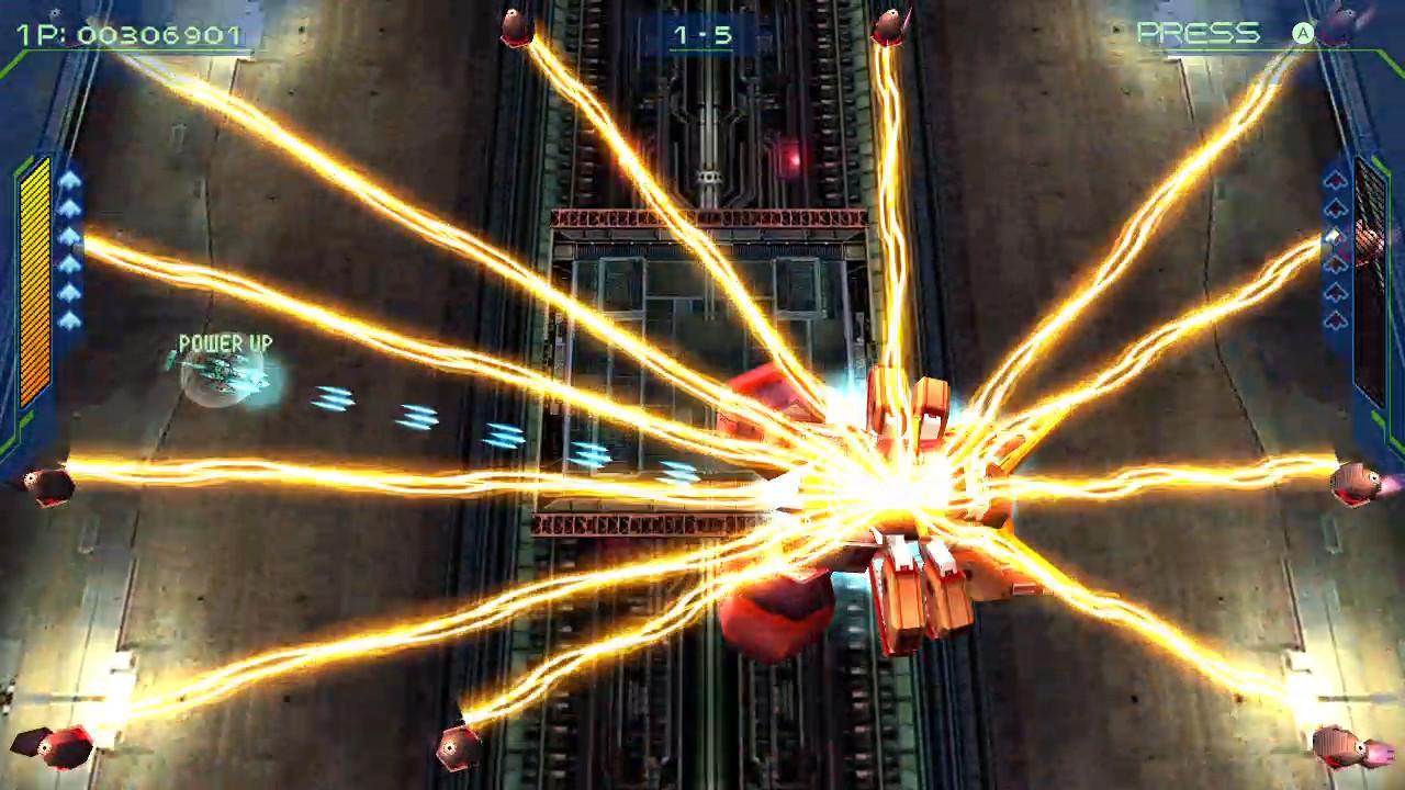 彩京名作《零式枪手2》将于年末移植登陆Steam平