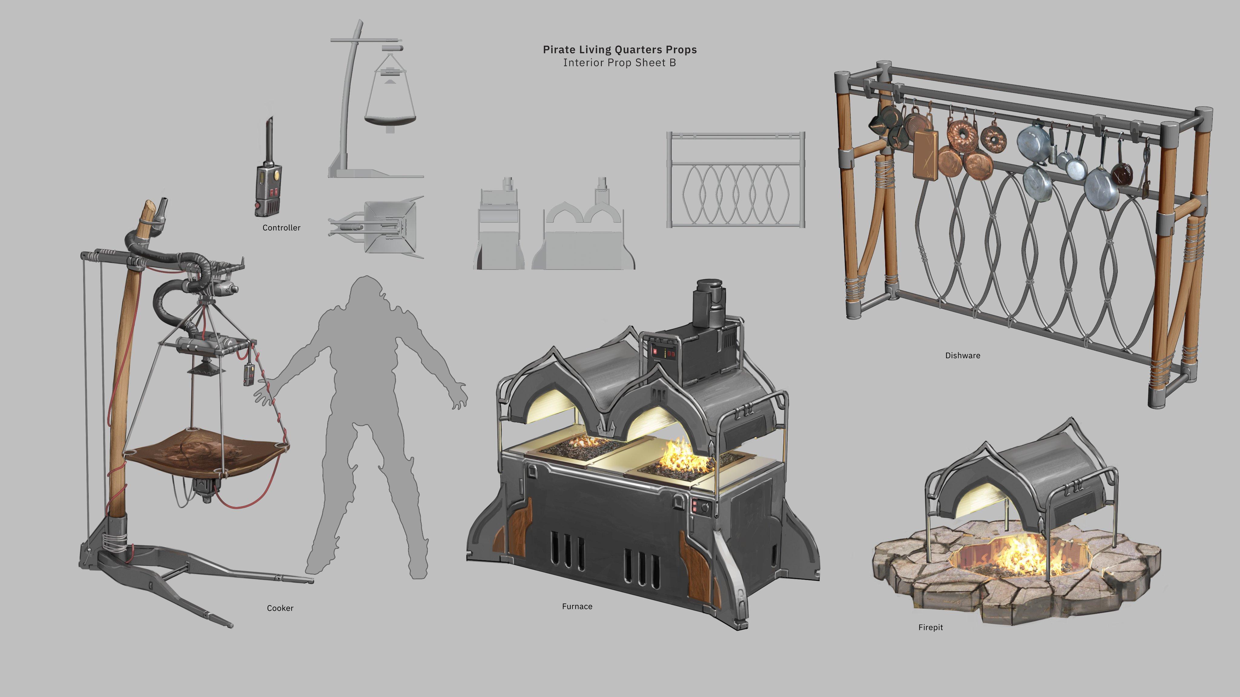 《圣歌2.0》新副本Longfall Ruins更多概念图展示