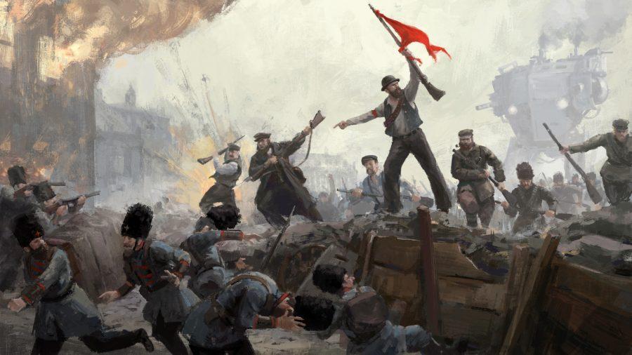 《钢铁收割》公布首个DLC 重新构想俄国大革命