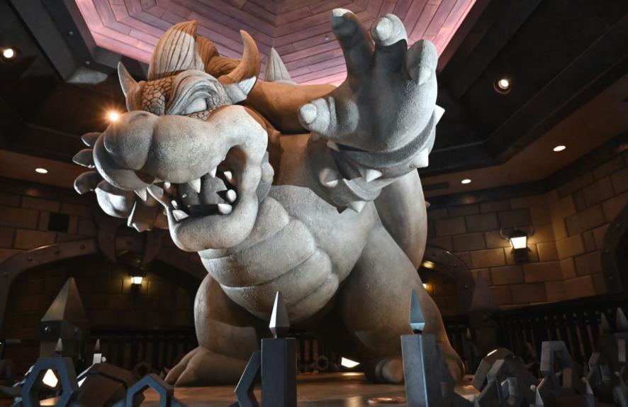 超级任天堂世界主题乐园确定21年2.4日开业 首次公开内景