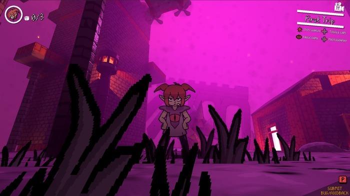 恶魔少女动作游戏《恶魔地盘》提供免费试玩版