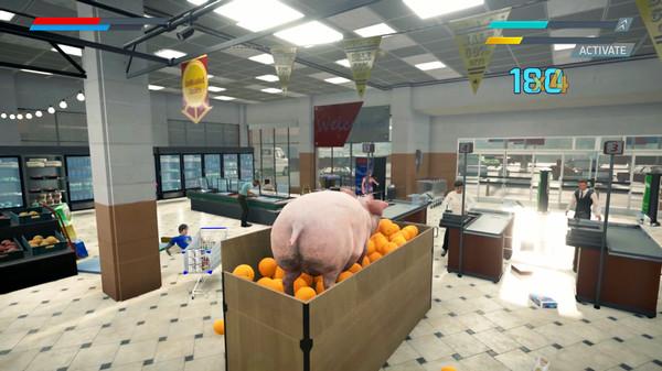 大闹人类世界!奇葩模拟新游《滑板猪模拟器》上架Steam