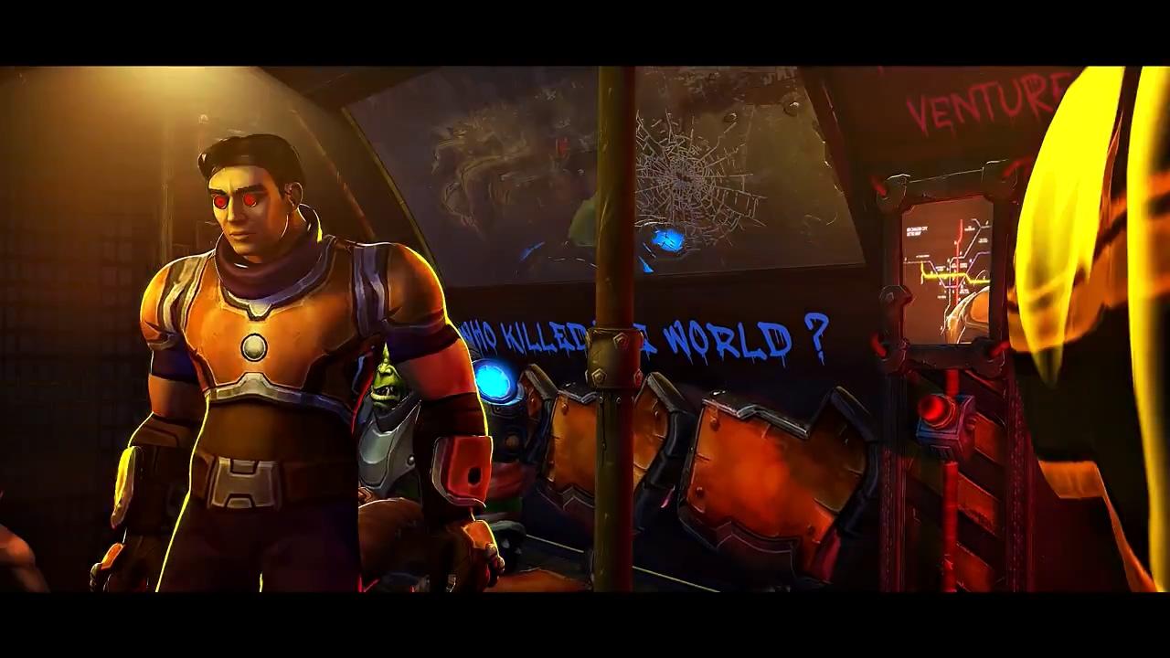 画面太美!当《赛博朋克2077》和《魔兽世界》产生联动