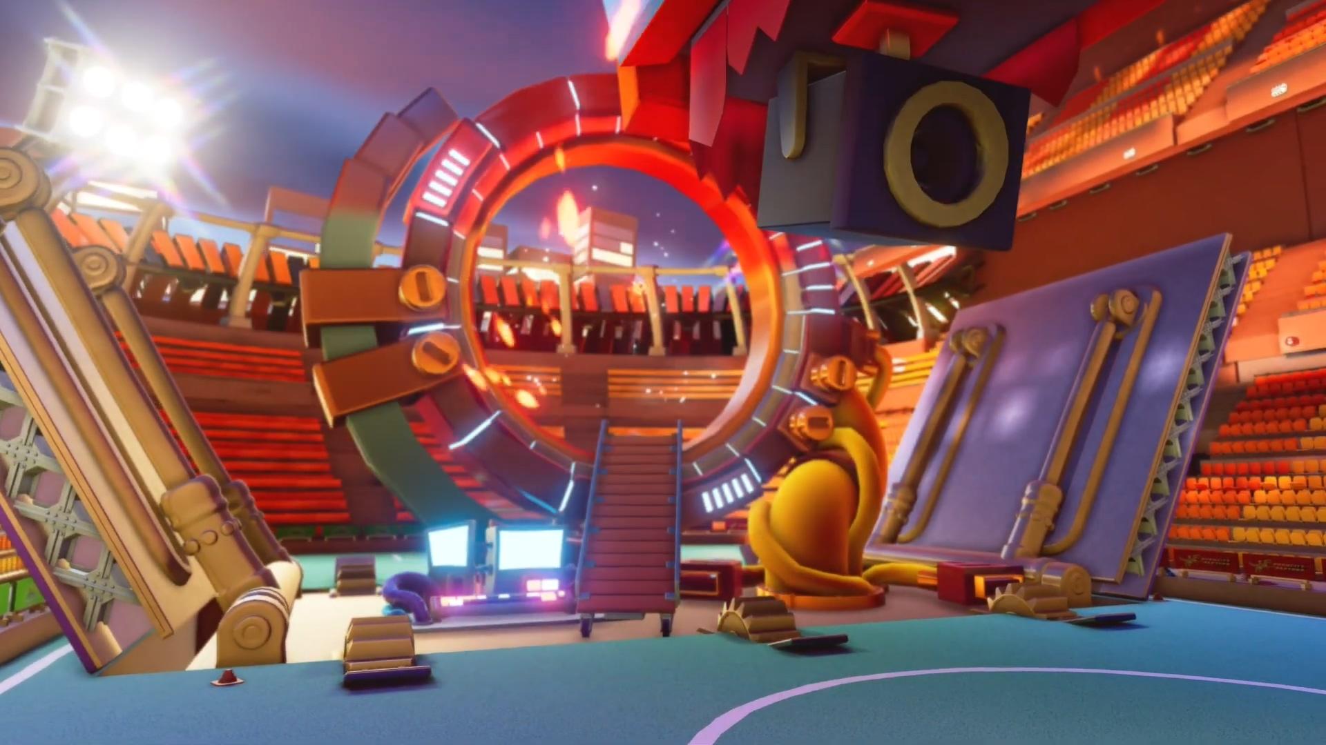 《百战天虫:大混战》上市预告 32人跨平台竞技