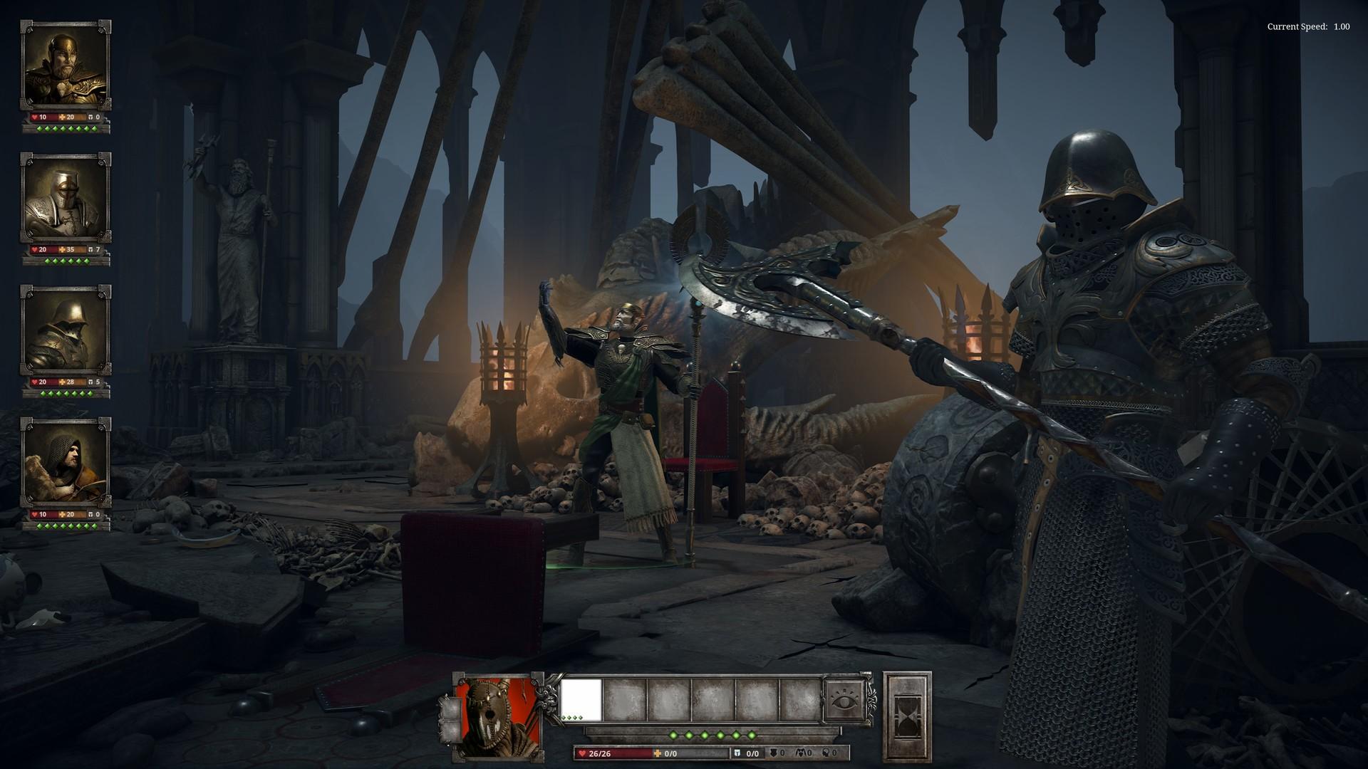 战术RPG《亚瑟王:骑士传说》EA版明年1月12日登陆Steam
