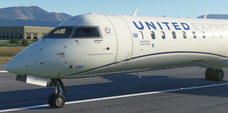 《微软飞行模拟》新截图:CRJ 550更多细节公开