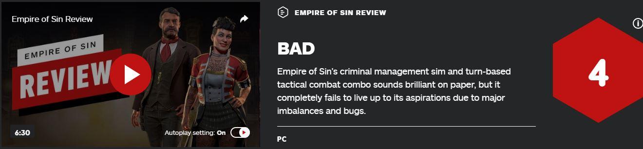 战术策略游戏《罪恶帝国》IGN仅4分:平衡性差BUG太多
