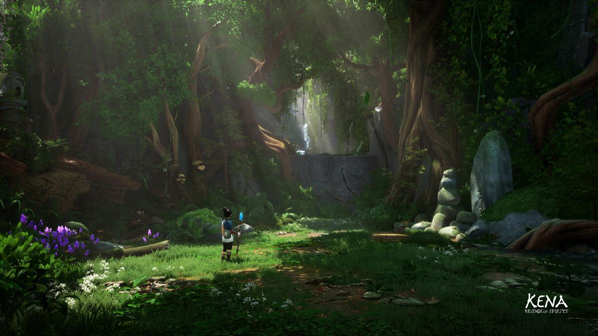 《Kena:精神之桥》游戏截图展示 官方恶搞自黑