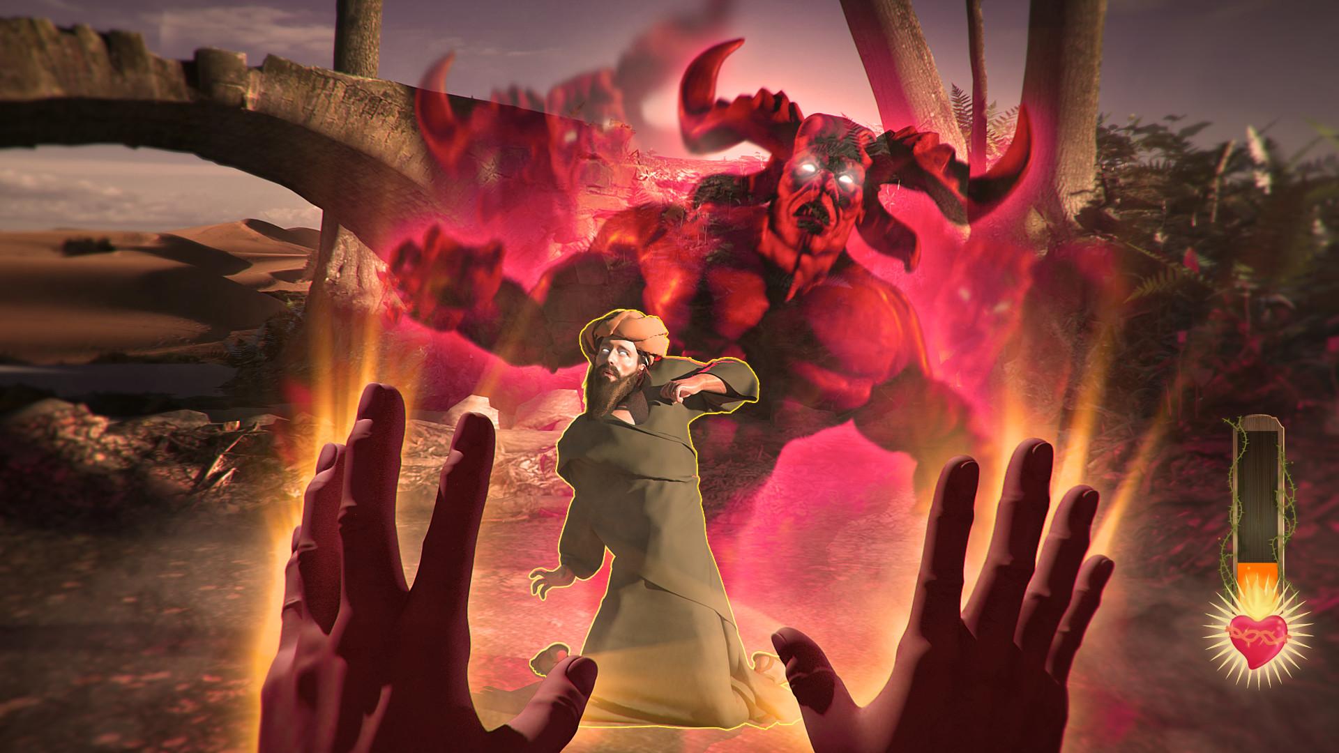 奇葩另类游戏《我是耶稣》宣布将于21年2月1日开启众筹