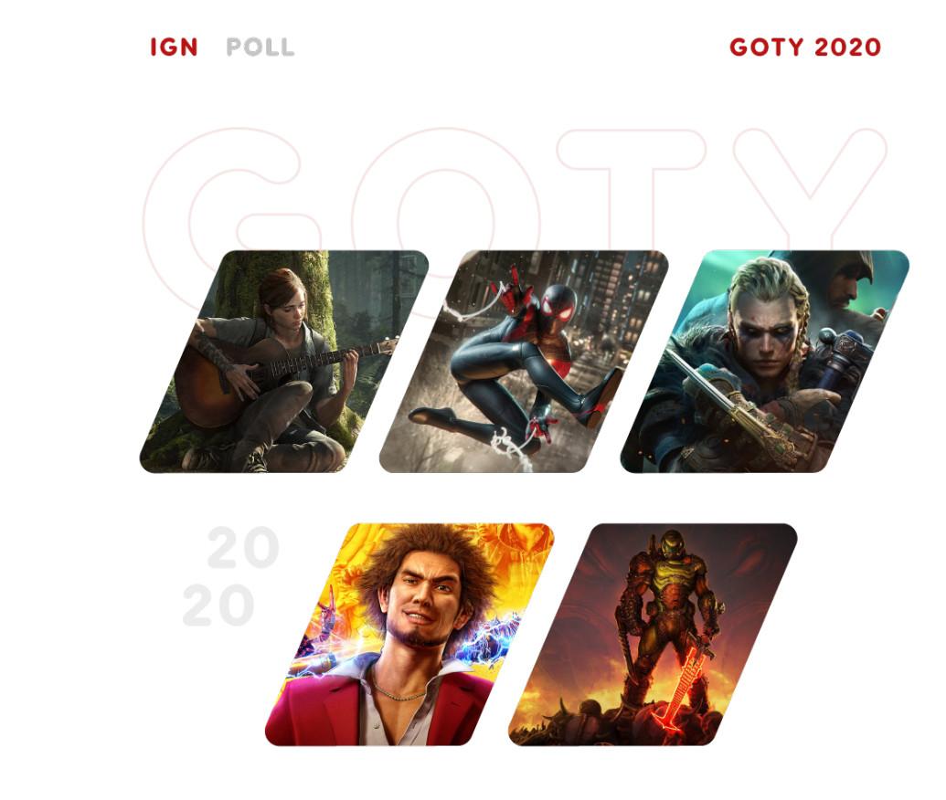 """IGN投票""""年度游戏"""":《对马岛之鬼》一马当先"""