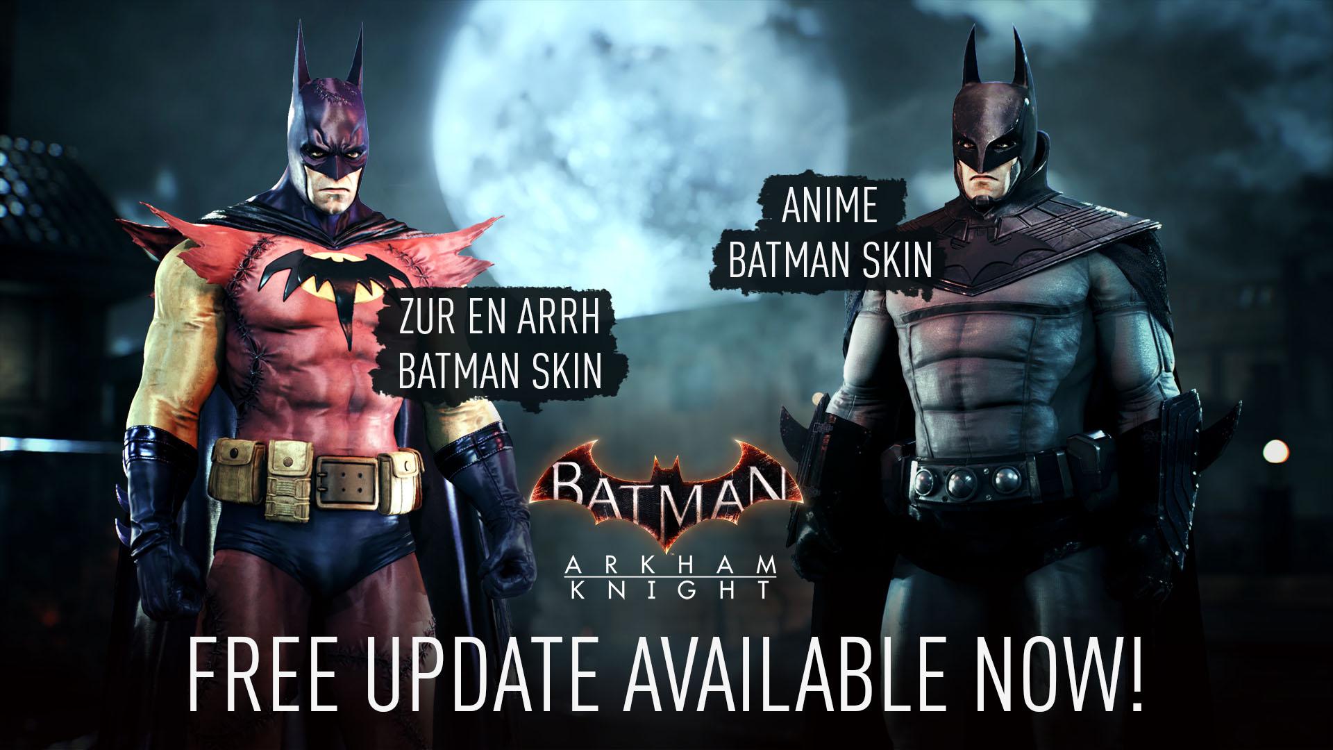 《蝙蝠侠:阿卡姆骑士》Steam版移除D加密 新增两个免费皮肤