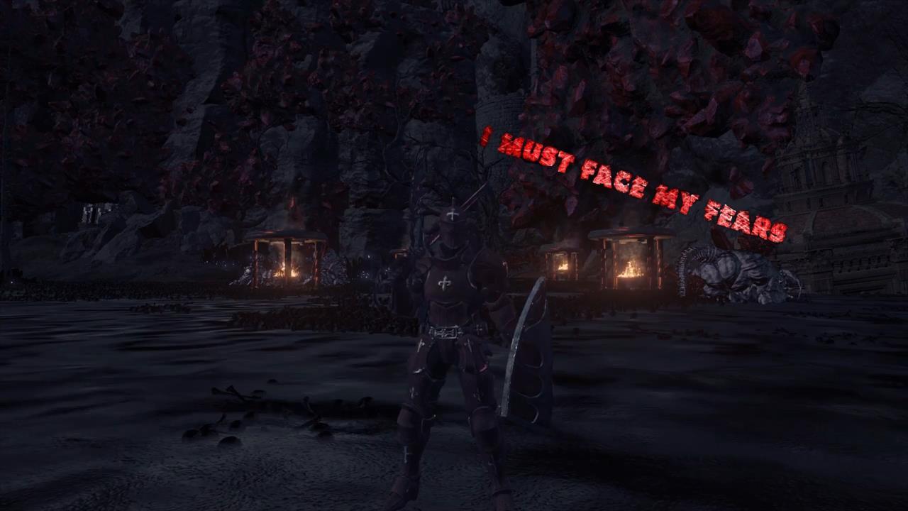 《漆黑之魂3》13GB高难度Mod 增加新Boss地图兵器