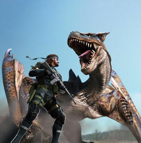 《怪物猎人》电影灵感来自于《合金装备》支线任务