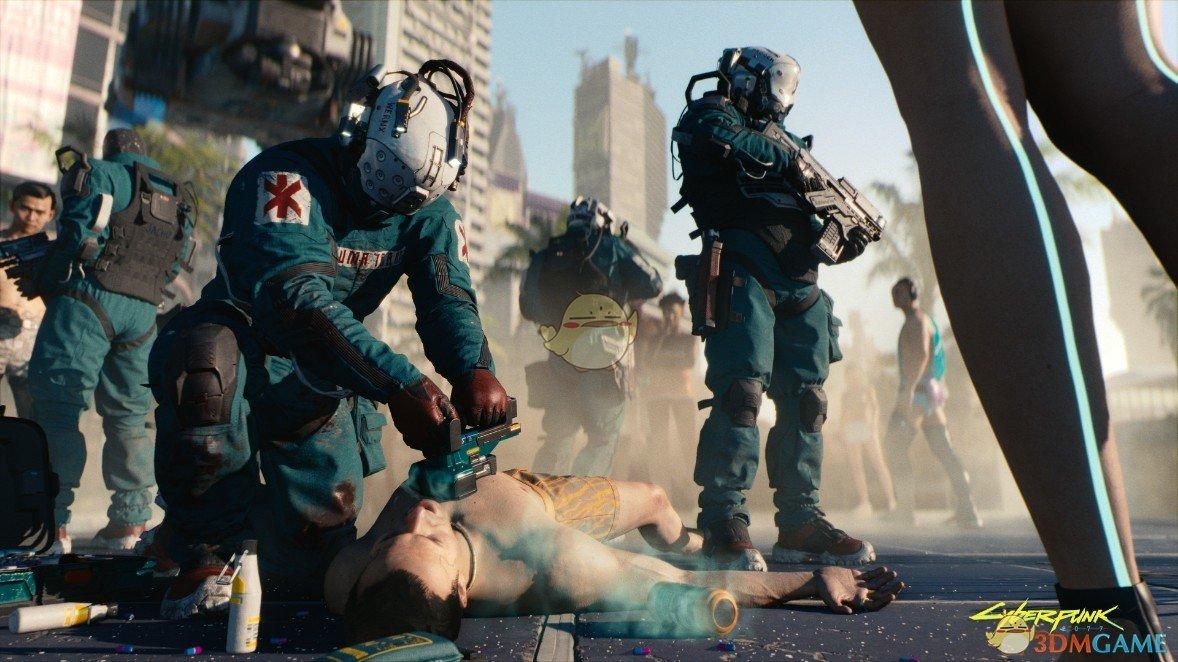 《赛博朋克2077》官方游戏实机截图