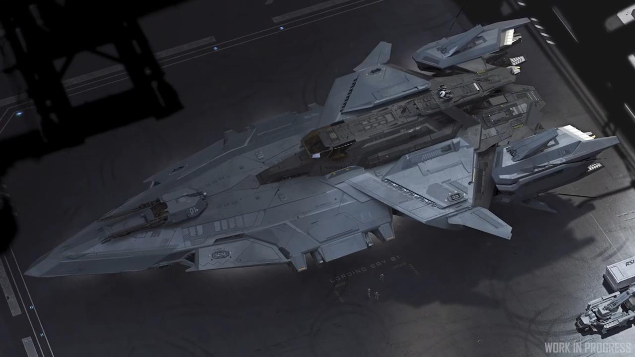 《星际公民》新视频介绍英仙座炮艇 众筹破3.35亿美元