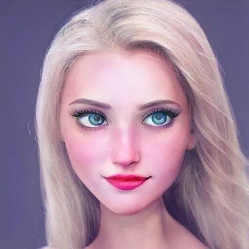 用AI还原迪士尼公主!真人版颜值颇高很有真实感