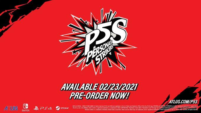 《女神异闻录5S》欧美版明年2月登陆NS/PS4/Steam 预告公开