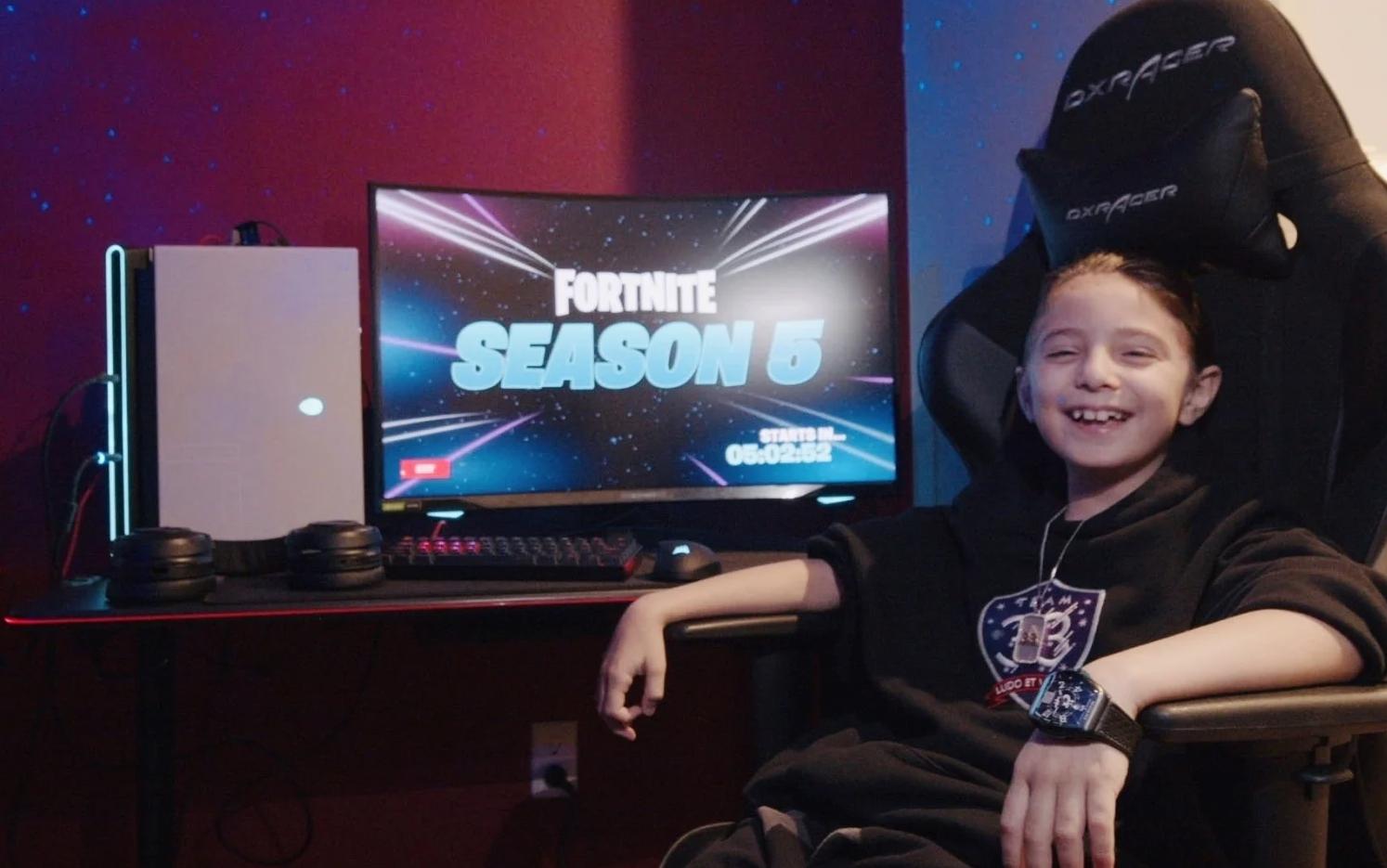 年仅8岁 《堡垒之夜》诞生史上最年轻的电竞职业选手
