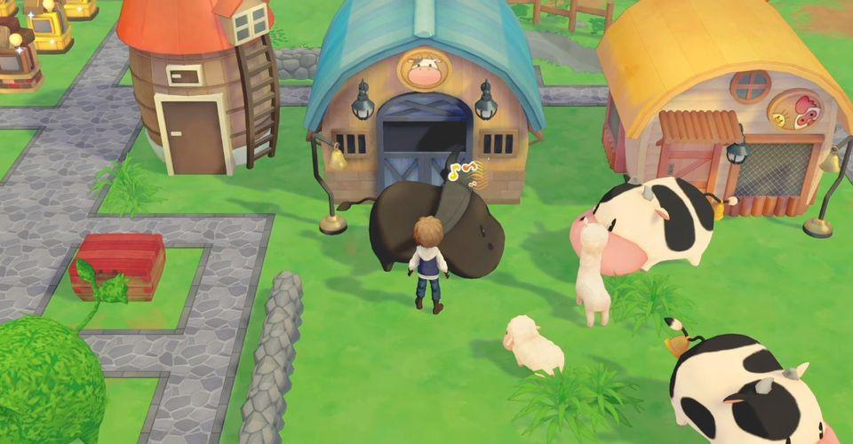 《牧场物语:橄榄镇与希望的大地》玩法预告片赏