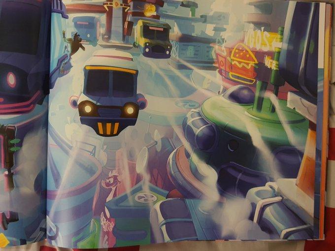 《古惑狼4》艺术画集暗示《小龙斯派罗》或有新作