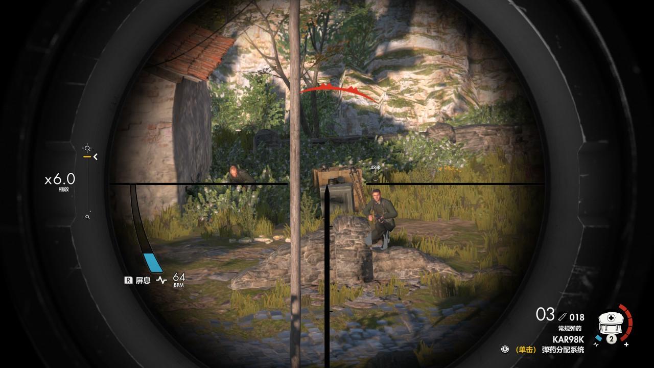 《狙击精英4》NS版评测:移植作品中的典范