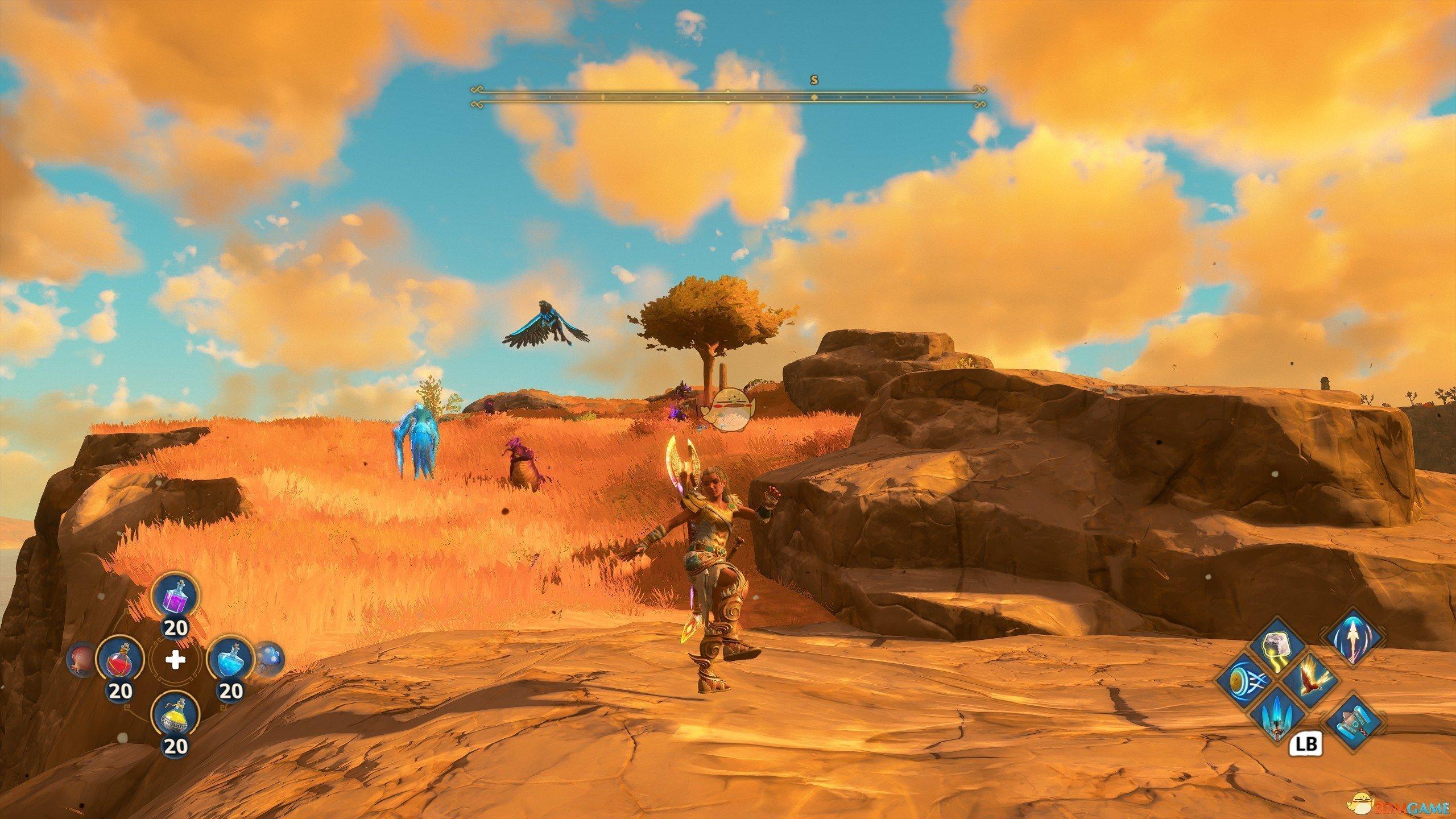 《渡神纪:芬尼斯崛起》坐骑紫色鹿刷新位置一览