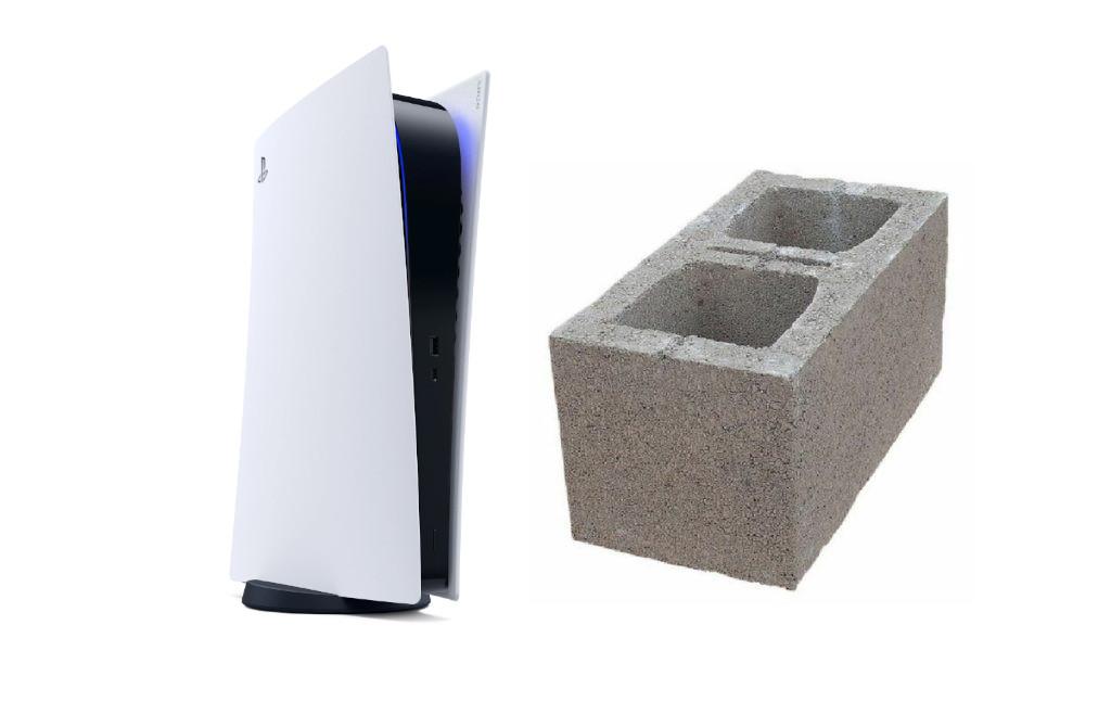 美国男子花900美元在Ebay上购买PS5 却收到一块砖头