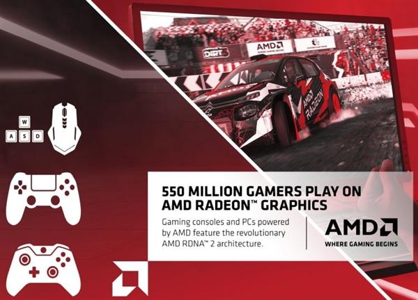 AMD跟英伟达杠上了:你有2亿用户我就有5.5亿A饭