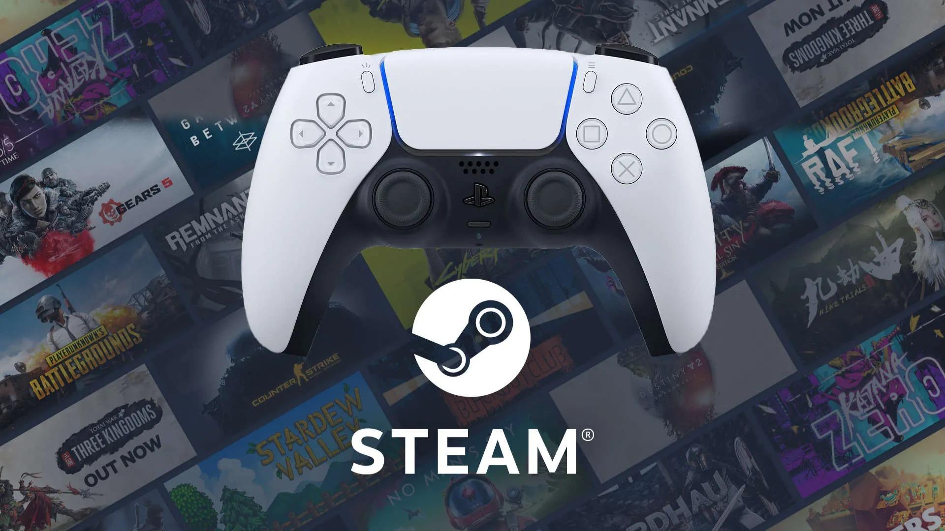 所有Steam用户现已可用PS5 DualSense手柄玩游戏