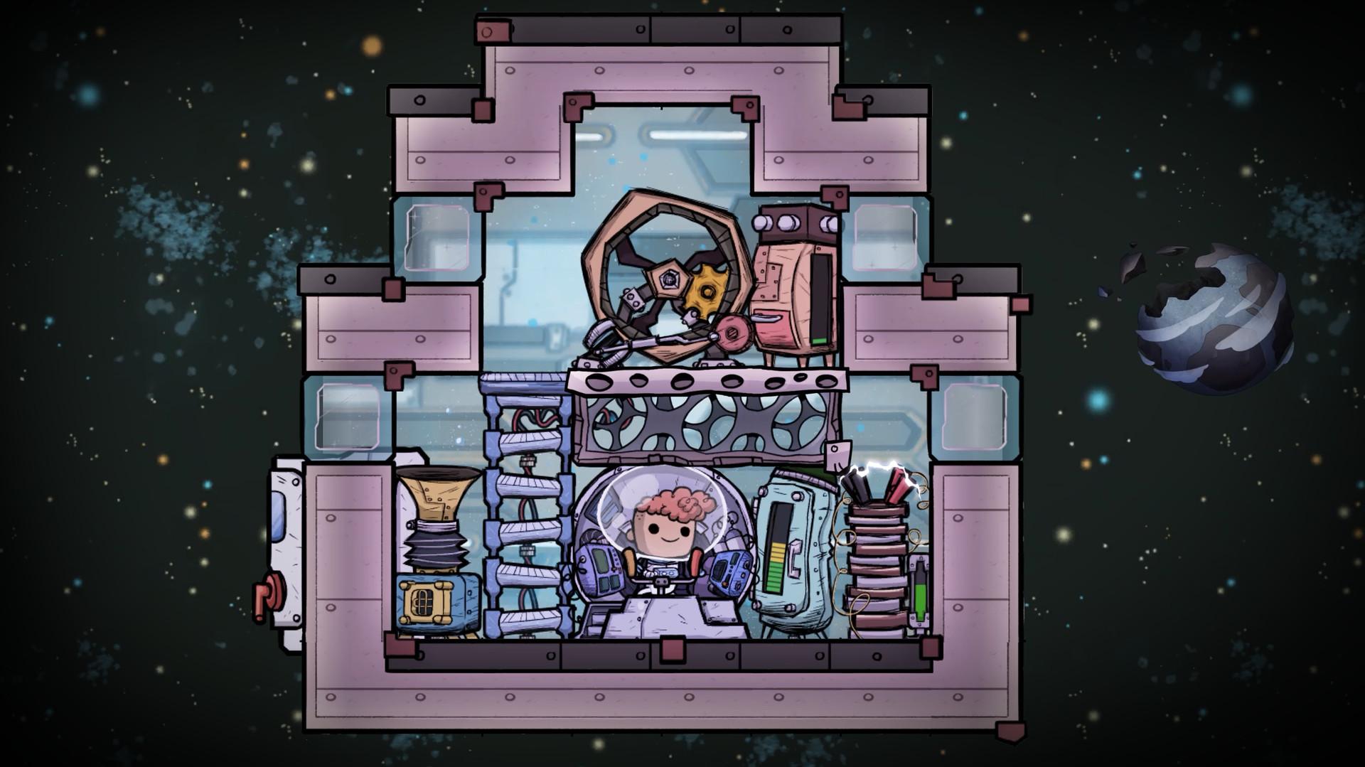 《缺氧》新DLC眼冒金星正式推出 更多内容制作中